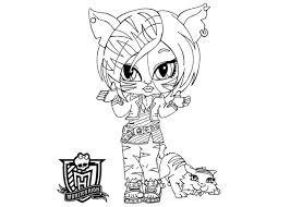 Monster High Baby Coloring Pages Frankie Coloriage