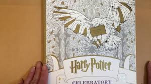 Flip Through Of Harry Potter Coloring Book Celebratory Edition