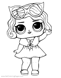 Lol Surprise Doll Coloring Pages Getcoloringpages Com Rh Printable Unicorn