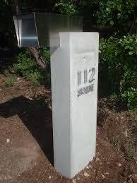 Houstons Concrete Polishing Company Friendwood Texas by Westlake Concrete Mailbox Beton Cement Concrete Betong