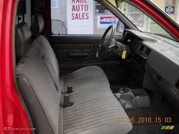 Gray Interior 1991 Nissan Hardbody Truck Regular Cab Photo #39415729 ...