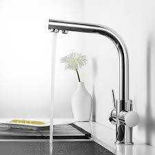 Kitchen Faucet Water Arcora Kitchen Faucet Water Lever 3 In 1 Mixer Tap With Filter System