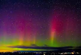 Northern Lights Over the Bitterroot Valley