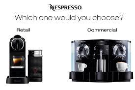 Nespresso Commercial Machines Calgary