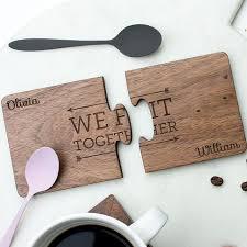 Wooden Coaster Jigsaw Set
