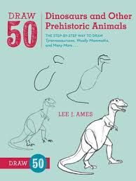 Cover Image Of Draw 50 Dinosaurs And Other Prehistoric Animals