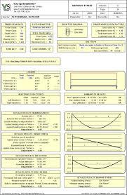 flitch beam desgin spreadsheet to bs 5268