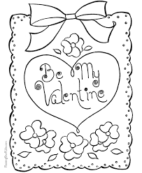 Hap Superb Coloring Pages For Valentines Day Printable