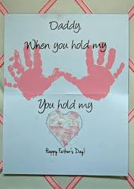 Leave Out Daddy 40 DIY Fathers Day Card Ideas And Tutorials For KidsHandprint Happy