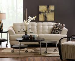 Red And Taupe Living Room Ideas by Delray Taupe All Leather Sofa Also Available In Red And Brown