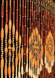 wood beaded curtains daze of my youth pinterest beaded