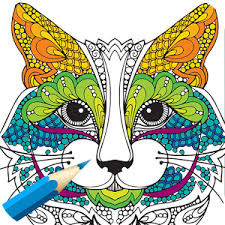 Adult Coloring BookAnimals