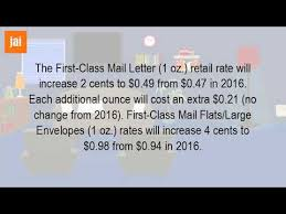 How Much Does It Cost To Send A 9X12 Envelope