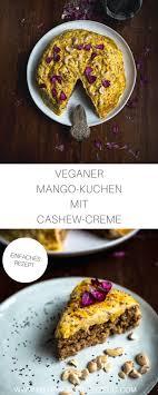 veganer mango kuchen