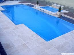 travertine linen tumbled unfilled tiles pavers