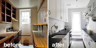 Before And After Kitchen Remodels Classy Of Amp 15 Creative Renovations The