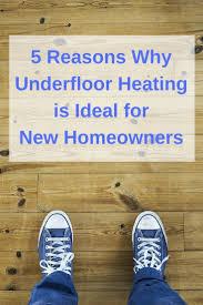 Suntouch Heated Floor Not Working by Best 25 Home Underfloor Heating Ideas On Pinterest Bathroom