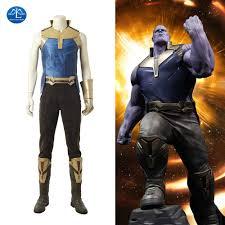 2018 Movie Avengers Infinity War Thanos Cosplay Costume Men