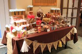 CANDY TABLES BUFFETS