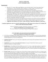 Law Enforcement Resume Examples Best Samples Dh O142957