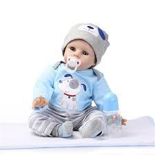 NPKDOLL 22u201d Reborn Silicone Handmade Lifelike Baby Dolls Realistic