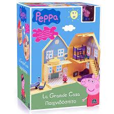 peppa pig la maison de luxe giochi preziosi bienvenue sur le