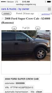 Best 4x4 Ford Truck For Sale In Ramona, California For 2018 Craigslist Car Scam List For 102014 Vehicle Scams Google Best Cars For Sale In Ccinnati Ohio Image Collection Miata Limousine Spotted Awesome Or Abomination Vehicles Luxury Laredo Tx Best Reviews 2019 20 8700 Could This 1970 Ford F250 Work Truck You Chevy San Diego Top Release 1920 Trucks By Owner Classifieds Craigslist Las Used 2012 Toyota Camry Le At Classic Chariots In Vista Craigslist Houston Tx Cars And Trucks By Dealer Wordcarsco 6000 1968 F100 Be All The Youd Ever Need Christian Alcaraz Jrs 2011 Nissan 370z On Whewell Texas Car Parts Idea Houston