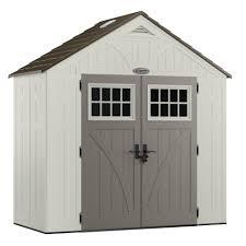 Mule 4 Shed Mover by 522 49 Sears Rubbermaid Craftsman 8 U0027 X 4 U0027 Storage Building