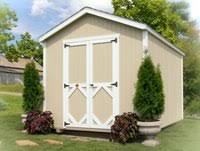 8x8 Storage Shed Kits by Little Cottage Co Classic Saltbox 8 U0027 X 8 U0027 Storage Shed Kit 8x8