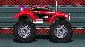 100 Monster Truck For Kids Sports Car Car Race Video
