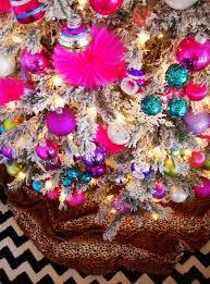 Pink Christmas Tree Flocking Spray by Christmas Tree U2013 The Domestic Junkies