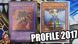 yugioh best masked hero deck profile ft honest neos vyon
