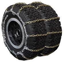 Truck Square Link Alloy Tire Chain - Dual/Triple - Part No. 4131CA