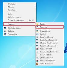 comment mettre des post it sur le bureau windows 7 windows créer un raccourci logiciel sur le bureau clubic