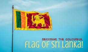 The Colourful Flag Of Sri Lanka