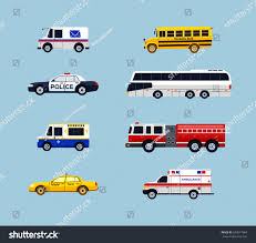 100 Who Makes Mail Trucks Vehicle Transportation Modern Vector Flat Design Stock Vector