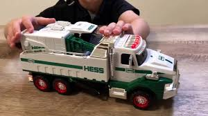 100 Hess Truck Toy 2017 HESS TOY DUMP TRUCK AND LOADER Unboxing And Review YouTube