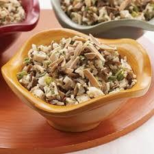 cuisine salade de riz salade de riz sauvage au poulet recettes de cuisine française