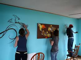 Cheap Ways To Decorate Your Room Use Own Creativity Repainting Walls