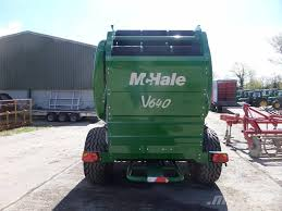 Christmas Tree Baler Used by Used Mchale V640 Round Baler Round Balers Price 32 583 For Sale