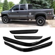 100 Truck Window Visors Amazoncom VioletLisa 4pcs Front Rear Smoke SunRain Guard Vent