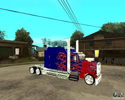 Truck Optimus Prime Para GTA San Andreas Artstation Transformers Optimus Prime Western Star 5700 Op Truck Evasion Mode 4 Gta5modscom Espetos Anuncia Expanso Da Marca Por Meio De Franquias China Top Brand Sinotruck 6x4 Euroii Tow Tractor Truck Experienced Drivers Inc Driving School Papeis Parede 3840x2160 The Last Knight Camio Cam Videos Utility Receives Largest Single Trailer Order From Filewhite 2300 Prime Mover On Display At The Riverina Show 2015 Freightliner Scadia Evolution Tandem Axle Sleeper For Sale 7744 Amazon Begins To Act As Its Own Freight Broker Transport Topics