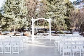 A Christmas Day Winter Wonderland Wedding In Arizona