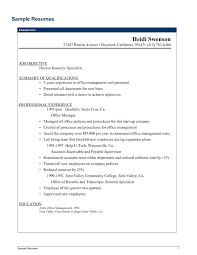 Sample Resume Office Manager Brilliant Ideas Of Objective Examples With Records Management Officer Construction Company