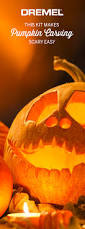 Easy Shark Pumpkin Carving by Pumpkin Carving Is As Easy As Opening Up The Dremel Pumpkin