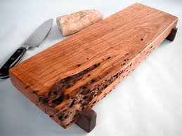 Reclaimed Cherry Wood Serving Cutting Board 50
