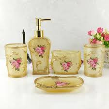 Bella Lux Crystal Bathroom Accessories by Awesome Bathroom Soap Dispenser Set Images Home Design Ideas