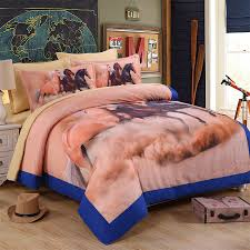 Twin Horse Bedding by Online Shop Polyster Cotton Cartoon Luxury 3d Horse Bedding Sets