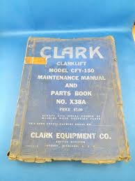 CLARK CLARKLIFT FORKLIFT Maintenance Manual Parts Book Cfy-150 Lift ... Clark Forklift Manual Ns300 Series Np300 Reach Sd Cohen Machinery Inc 1972 Lift Truck F115 Jenna Equipment Clark Spec Sheets Youtube Cgp16 16t Used Lpg Forklift P245l1549cef9 Forklifts Propane 12000 Lb Capacity 1500 Dealer New York Queens Brooklyn Coinental Lift Trucks C50055 5000lbs 2 Ton Vehicles Loading Cleaning Etc N