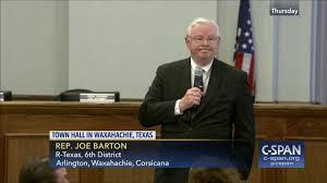 Barton Single Control Pull Out by Representative Joe Barton Town Hall Meeting Apr 20 2017 Video